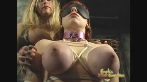 Massive Tits Slave Is Grateful For All The Pain